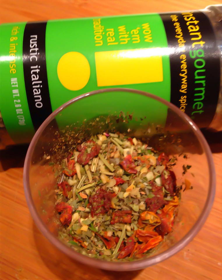 Phil LaMarche's Instant Gourmet RUSTIC ITALIANO chunky spice blend.