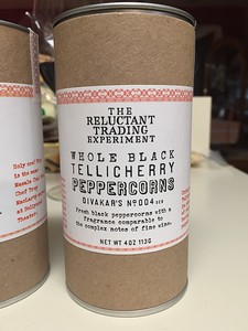 Amazing tellicherry pepper