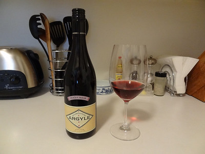 Pinot noir from Argyle Winery - Willamette Valley, Oregon.