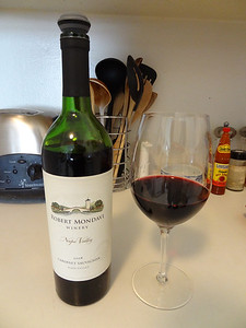 Cabernet sauvignon from Robert Mondavi Winery - Napa Valley, California.