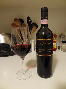 Sangiovese from the San Filippo winery - Montalcino, Italy.