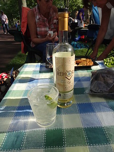 Great gin and tonic