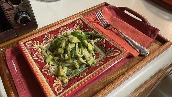 Pesto Trenette w/Potato and Green Beans