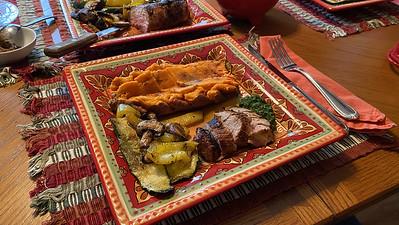 Grilled Indonesian Pork Tenderloin