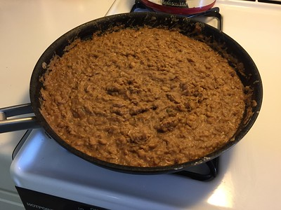 Re-fried beans