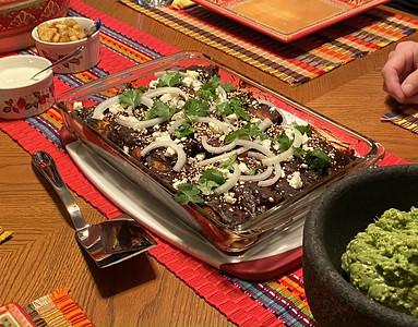 Chicken Enchiladas Mole