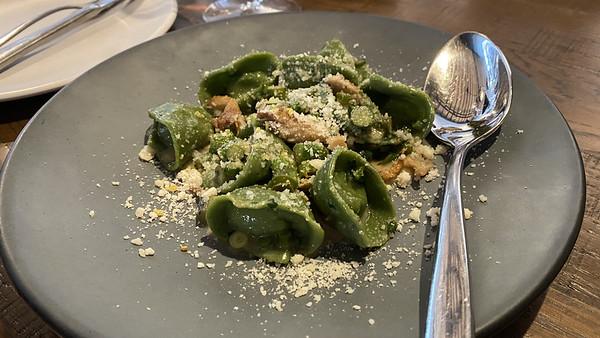 Spinach Cappelletti