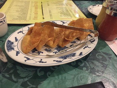 Crabmeat rangoon