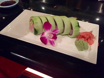 Krazy roll in cucumber