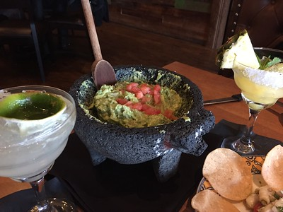Guacamole made to order at tableside