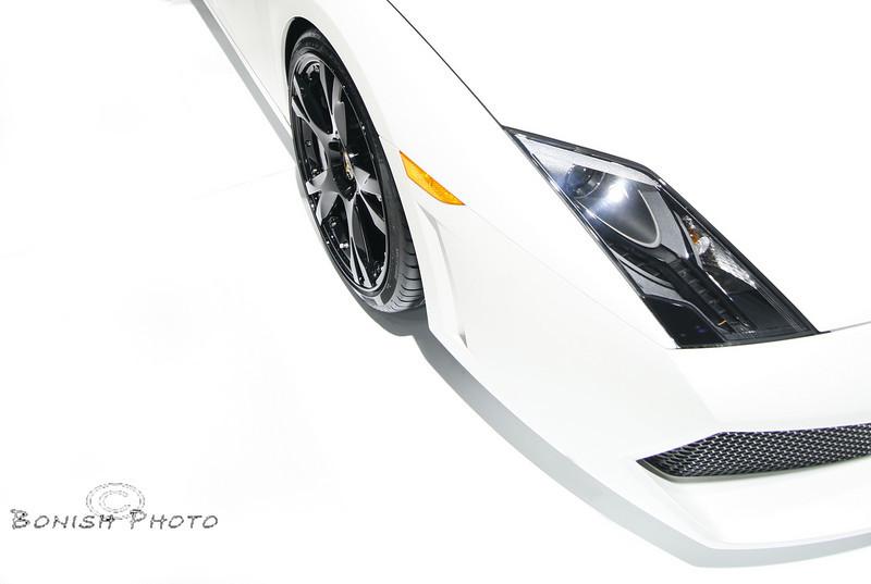 Lamborghini Front End - Detroit Auto Show 2009