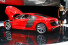 Audi R8 V10 - Two Beautiful Designs -  Detroit International Auto Show 2009