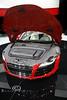 Audi R8 V10 - Custom Luggage Under the Hood - Detroit International Auto Show 2009