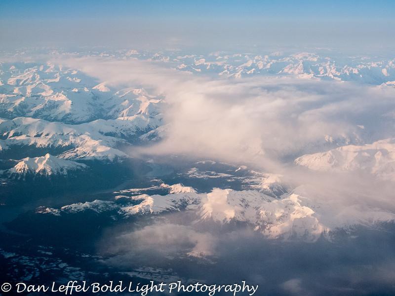 Somewhere over British Columbia, Canada