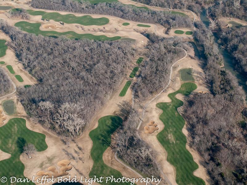 Winter Golf Course Near DFW Airport