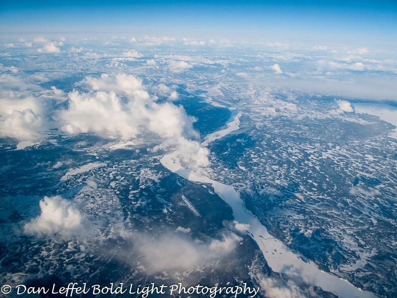 Approaching Fairbanks, AK