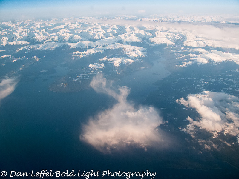 Somewhere over British Columbia, Canada