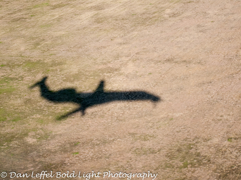 Landing at DFW Airport