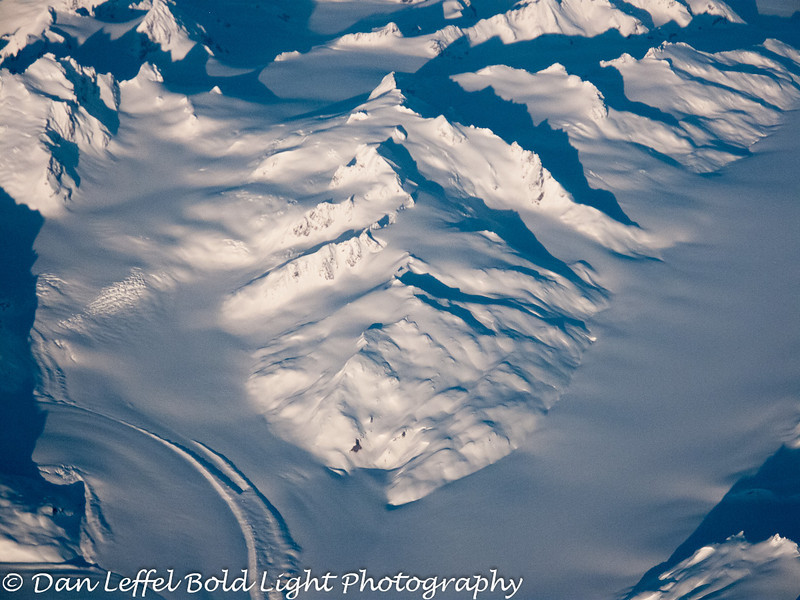 South East Alaska Fjord and double glacier
