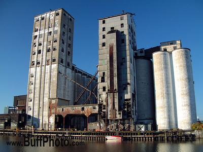 Grain Mill on Buffalo Waterfront