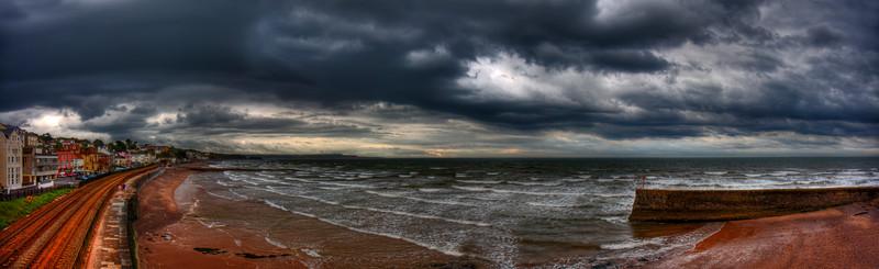 Stormy Dawlish