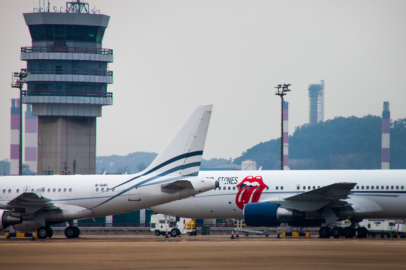 The Rolling Stones Jet, Macau China, 2014