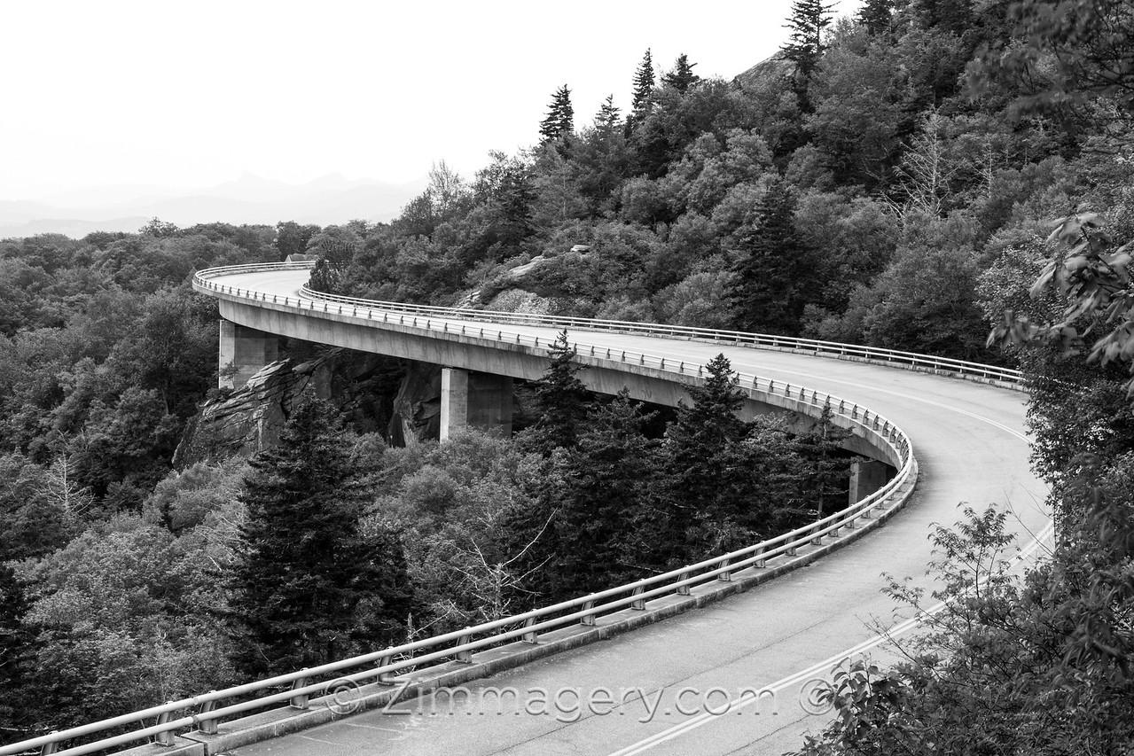 Linn Cove Viaduct Blue Ridge Parkway, North Carolina