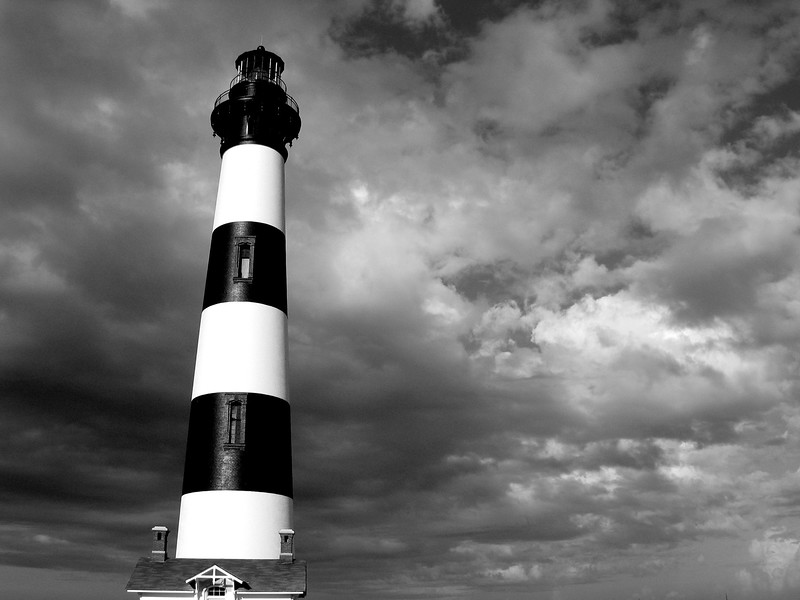 Lighthouse, Kitty Hawk, North Carolina
