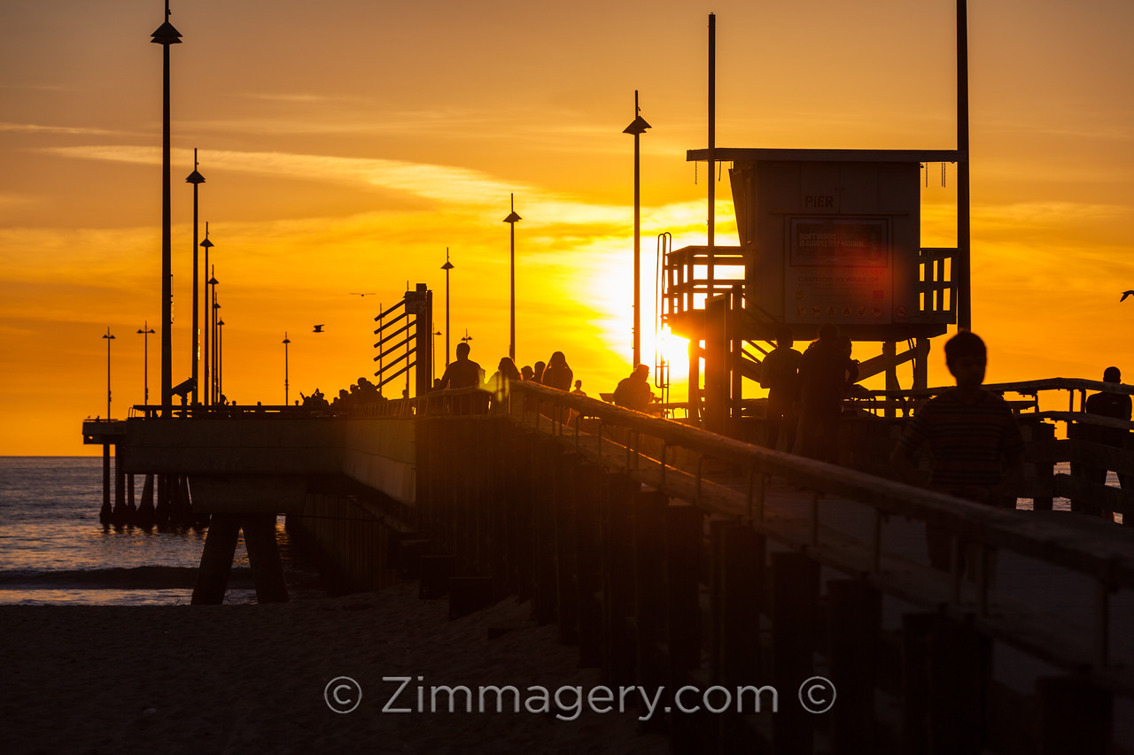 Venice Beach Lifeguard Tower, California