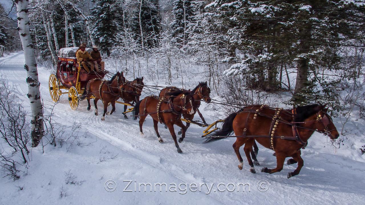 W.F. Stagecoach, Jackson, Wyoming