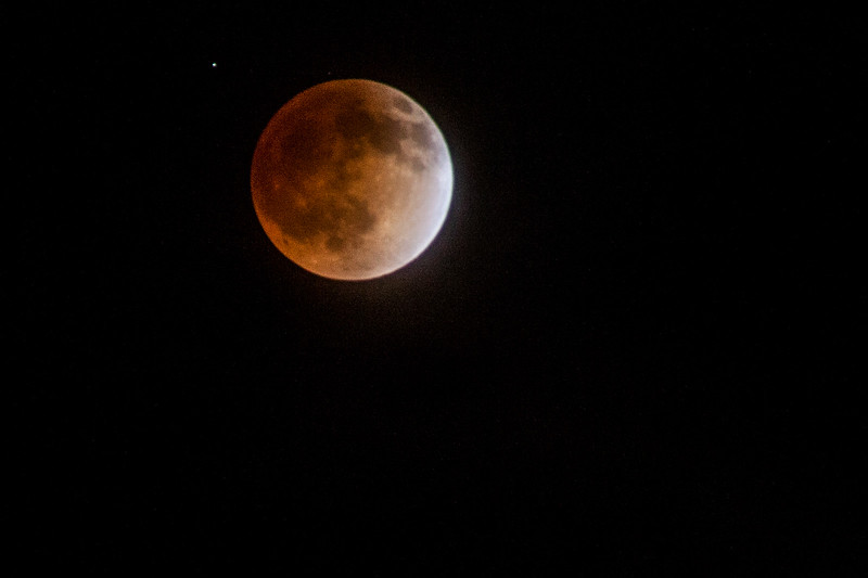 Lunar Eclipse from Marina del Rey, CA
