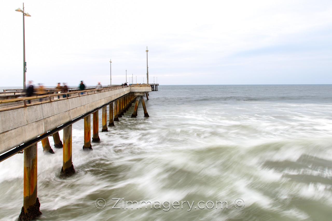 Venice Pier, CA, long exposure