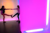 Light Tunnel Dance - August 2014<br /> Houston, Texas<br /> (2x3)