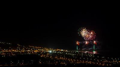 2012 Christchurch Pier Fireworks