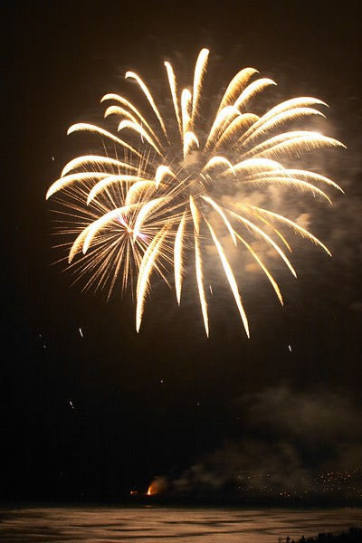 Fireworks - New Brighton Pier 2005