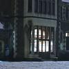 Snow in the Arts Centre - Chch