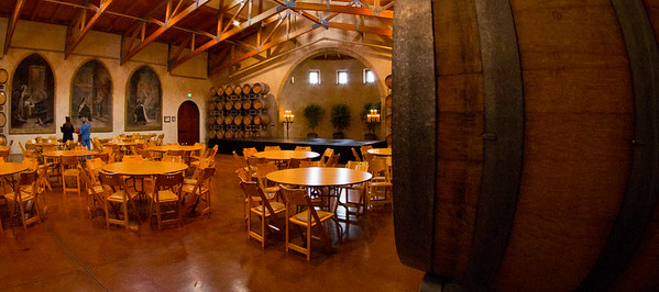 Jacuzzi Family Vineyards in Sonoma, California.