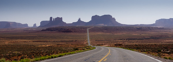 Leading into Monument Valley.