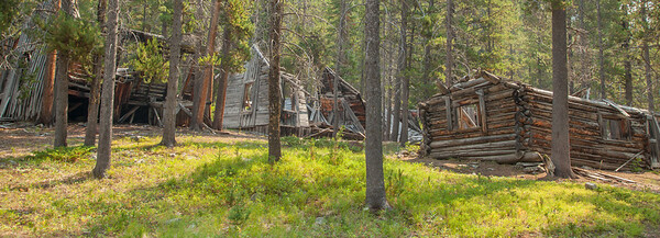 Coolidge Ghost  Town - Pioneer Mountains, Montana