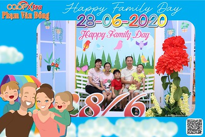CoopXtra | Family Day instant print photo booth  @ CoopXtra Pham Van Dong | Chụp ảnh in hình lấy liền Ngày Gia đình | Photobooth Saigon