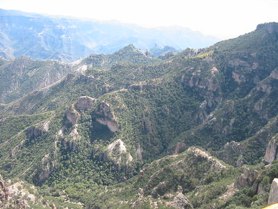Cooper Canyon Mexico  10-2004