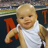 Cooper's first baseball game