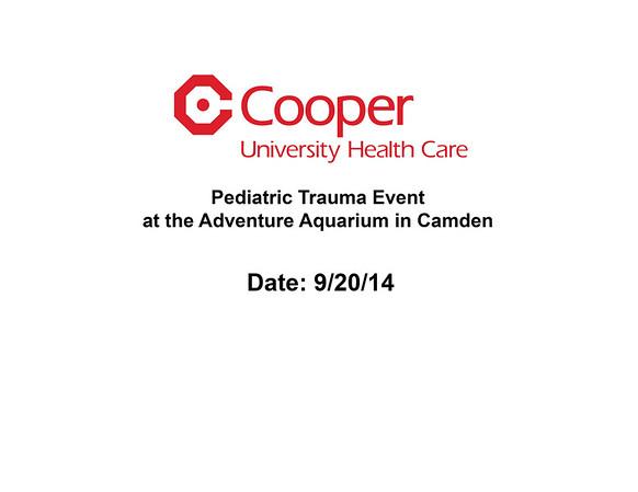 Pediatric Trauma Event at the Adventure Aquarium in Camden Date: 9/20/14