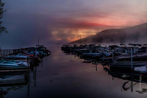 Morning on Otsego Lake