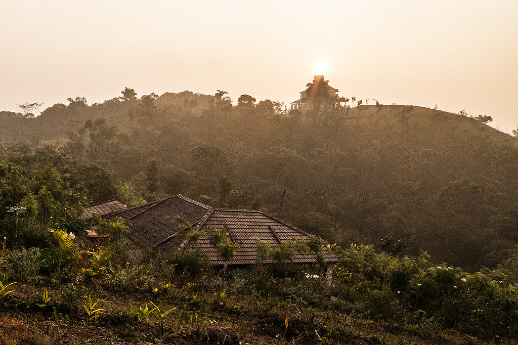Sunrise in Coorg, Karnataka
