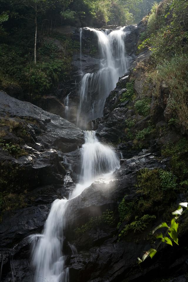 Iruppu Falls, Karnataka, India