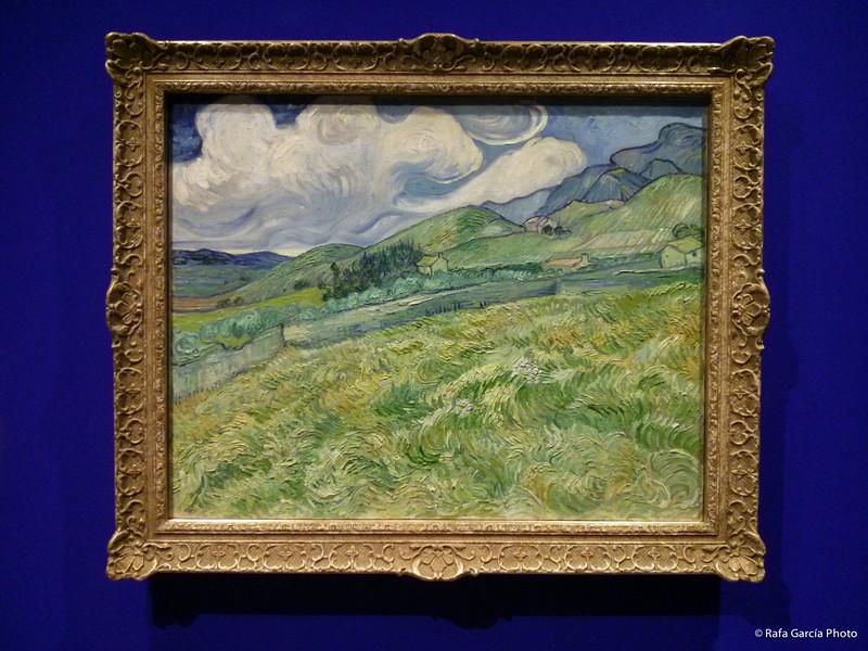 Van Gogh - Landscape from Saint-Rémy