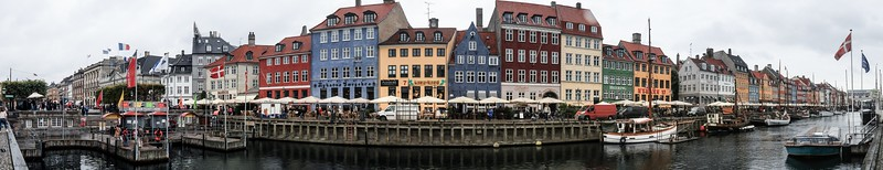 Built by slaves of the King at the time, Nyhavn is about 1450 feet long and packed with antique ships, restaurants and bars.
