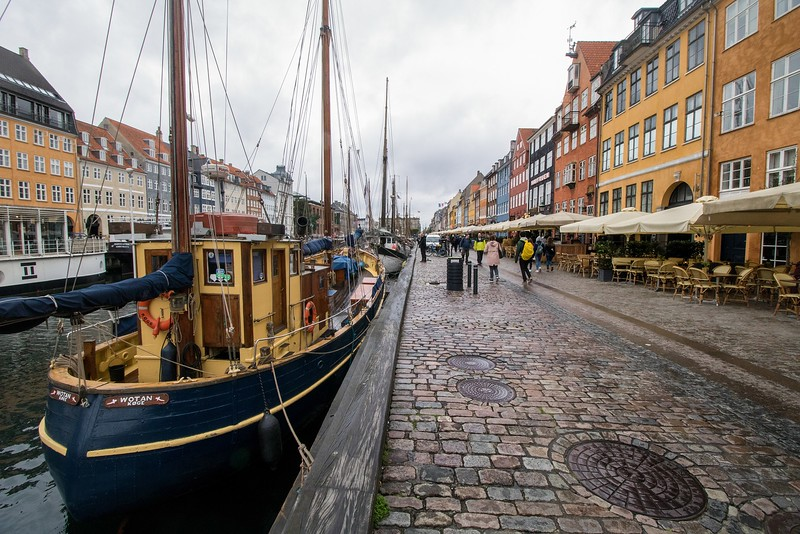 In its heyday Nyhavn was a bustling center of rowdy bars, cafes and prostitution.