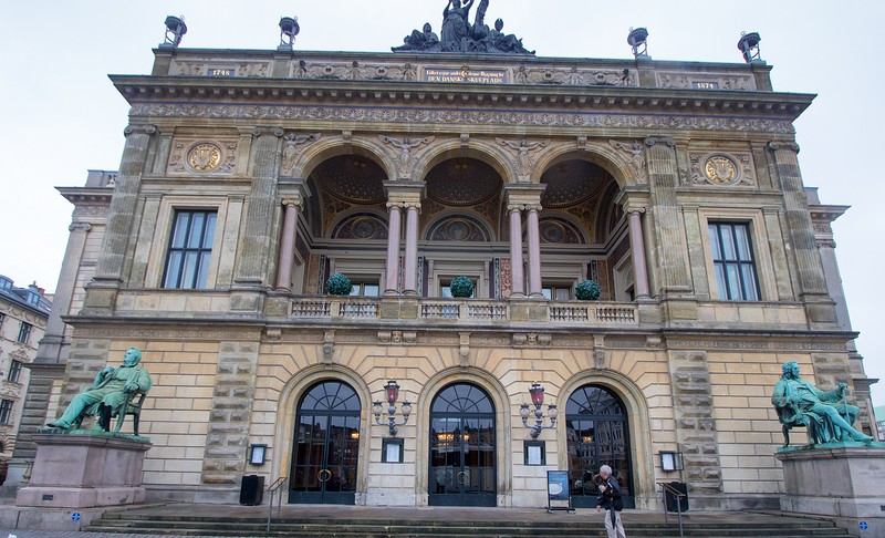 The Royal Danish Theater, only several blocks from Nyhavn.
